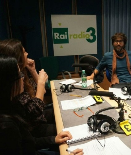 Italian Cinema Audiences Team on National Radio